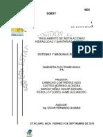 Reglamentos de instalaciones hidráulicas y sanitarias