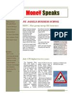 Money Speaks News Letter