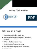 O Ring Optimization