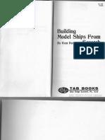 Building Model Ships From Scratch_Kent Porter