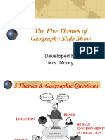 5 themes of gg identification slide show for cd