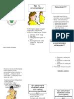 Leaflet Preeklampsia