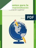 Apuntes Para La Internacionalización de la educación superior E-book