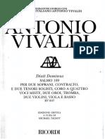 Dixit Dominus - Vivaldi