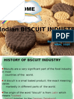 Indian Biscuit Industry - PPT
