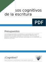 Procesos Cognitivos de La Escritura