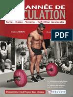 Mon Année de Musculation - Fred Mompo