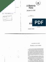LE GOFF, J. - A história nova.pdf