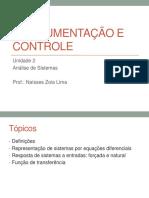 Instrumentação e Controle - Unidade 2 - Slides