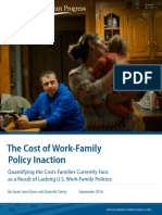 The Cost of Work-Family Policy Inaction