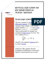 Wave Equation Modified