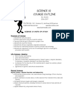 science 10 course outline 2016-2017