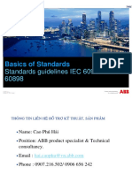 Standard Guidelines 60947 vs 60898 2015