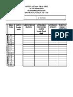 Formato Cronograma de Asignatura