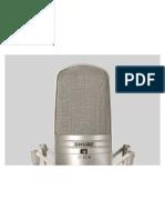 Microfono KSM44 Patron Polar Variable