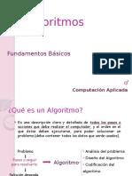 Algoritmos Computación Aplicada