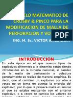 Modelo Matematico de Crosby Pinco Para l