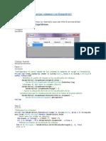 Agregar Columnas a Un Datagridview