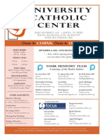 UCC Bulletin 9-11-2016