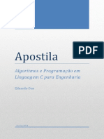 Apostila - Algoritmos e Programação Em Linguagem C Para Engenharia