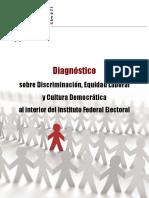 CG 110 2009 31 Marz ANEXO Diagnóstico IFE Discriminac y Equidad Laboral