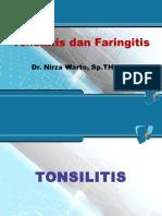 Tonsilofaringitis Dr. Nirza