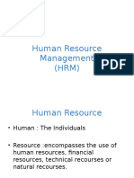 Chapter One - Introduction to HRM(Final)