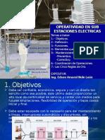Exposicion_operatividad en Sub Estaciones de Potencia_uunn Paita