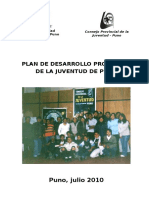 Plan de Desarrollo Juvenil[1]