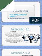 la Acción Civil en el Proceso Penal Peruano