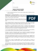"""09 06 2011 - El gobernador Javier Duarte de Ochoa puso en marcha las Jornadas del Programa """"Adelante"""" en el municipio de Filomeno Mata."""