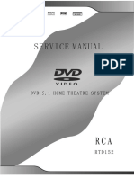 71063494 Home Theatre RCA RTD152 Service Manual