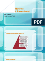 Indikasi Nutrisi Enteral & Parenteral