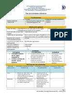 plan de actividades didacticas