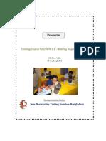 HP 1 Prospectus for CSWIP 3.1 Welding Inspector Level2