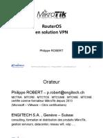 Présentation VPN - Mikrotik