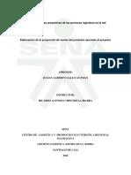 Elaboración de La Proyección de Ventas Del Producto Asociado Al Proyecto