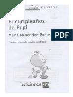 El Cumpleanos de Pupi Maria Menendez Ponte