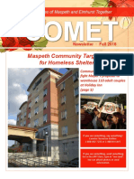 COMET Fall 2016 newsletter