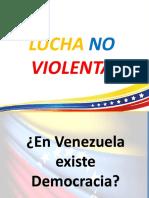 Presentacion Lucha No Violenta