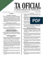 Gaceta Oficial Nº 40.982 - Notilogía