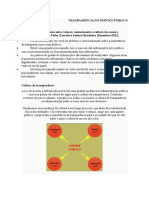 Transparência No Serviço Público - Material Teórico