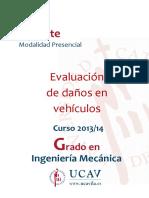 Temario Evaluación de Daños en Vehículos