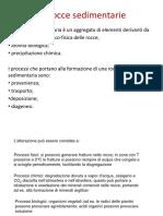Corso 2015-2016 - Biagioni (Rocce Sedimentarie)