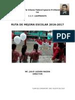 Ruta de Mejora Escolar-IMA TM