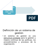 Los Sistemas Integrados de Gestion
