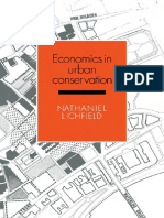Economics in Urban Conservation