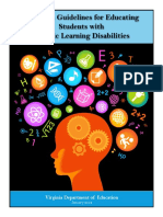 Learning Disabilities Guidelines