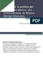 Historia de La Política Del Lenguaje en México