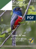 URUTAU ELECTRONICO - No 8 - OCTUBRE A DICIEMBRE 2015 - ANO 13 - GUYRA PARAGUAY - PORTALGUARANI